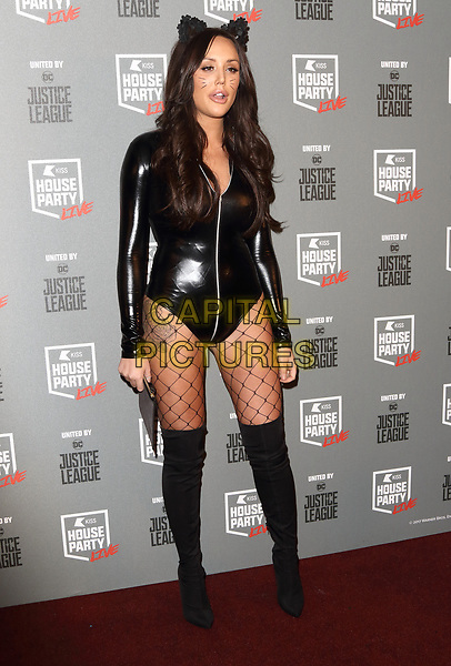 Charlotte Crosby at the KISS House Party at SSE Arena Wembley, London on Thursday 26 October 2017<br /> CAP/ROS<br /> &copy;ROS/Capital Pictures