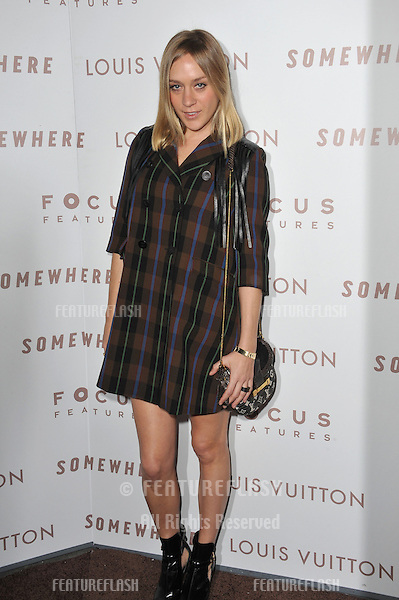 "Chloe Sevigny at the Los Angeles premiere of ""Somewhere"" at the Arclight Theatre, Hollywood..December 7, 2010  Los Angeles, CA.Picture: Paul Smith / Featureflash"
