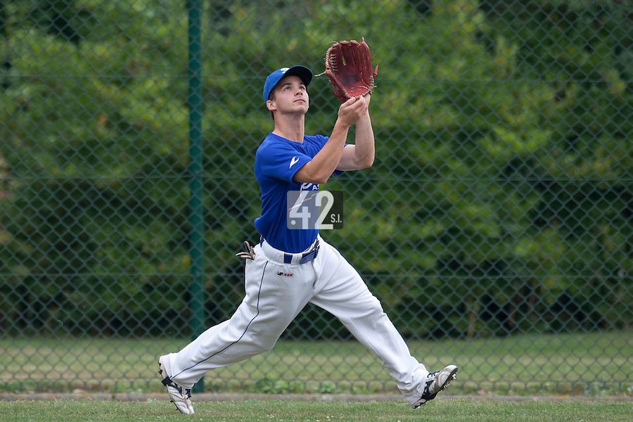 23 September 2009: Pole Baseball Rouen, Yohann Bret