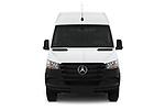Car photography straight front view of a 2019 Mercedes Benz Sprinter-Cargo-Van Base 4 Door Cargo Van