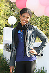 """Guiding Light's actors - Karla Mosley - """"Christine"""" - GL - on October 1, 2009 in Pittsburgh, PA area as the actors visit Moon Township Honda after going to the various GO PINK Panera Bread locations. Proceeds from pink ribbon bagel sales will benefit the Young Women's Breast Cancer Awareness Foundation. (Photo by Sue Coflin/Max Photos)"""