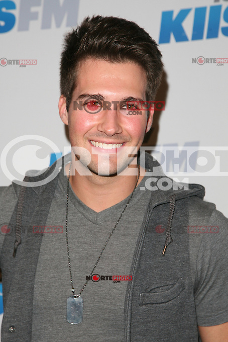 LOS ANGELES, CA - DECEMBER 01: James Maslow at KIIS FM's 2012 Jingle Ball at Nokia Theatre L.A. Live on December 1, 2012 in Los Angeles, California. Credit: mpi21/MediaPunch Inc. ©/NortePhoto /NortePhoto© /NortePhoto /NortePhoto