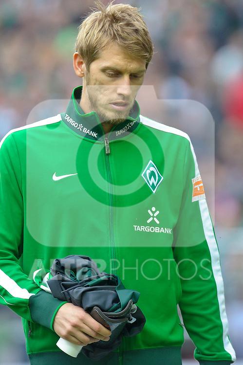 30.10.2010, Weser Stadion, Bremen, GER, 1.FBL, Werder Bremen vs 1. FC 1. FC Nürnberg im Bild Aaron Hunt ( Werder #14 ) Aaron Hunt ( Werder #14 )    Foto © nph / Kokenge