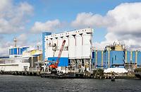 Nederland Vlaardingen - 2017.   Aliphos Rotterdam bv.  Sector energie en chemie.   Foto Berlinda van Dam / Hollandse Hoogte