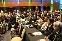 FLORIANÓPOLIS, SC, 13.09.2018 - IWC-SC - representante do japao fala na 67ª reunião anual de Membros da IWC (International Whaling Commission) em Florianópolis nesta Quinta-feira 13.  (Foto: Naian Meneghetti/Brazil Photo Press)
