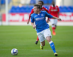 St Johnstone v Ross County....SPFL Development League...19.08.14<br /> Connor McLaren<br /> Picture by Graeme Hart.<br /> Copyright Perthshire Picture Agency<br /> Tel: 01738 623350  Mobile: 07990 594431