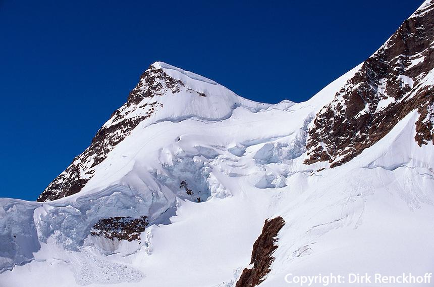 Schweiz, Berner Oberland, auf dem Jungfraujoch, Unesco-Weltkulturerbe