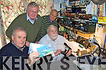 RADIO: Members of the Kerry Amateur Radio Club with some of their transceiver equipment in Cahersiveen last week including front l-r: Tom O'Sullivan (EI3AL, Killarney), John Gill (EI9JO, Cahersiveen). Back l-r: Jim Mortell (M3SEN, Waterville), Tony Siviter (EI2IZ, Ballinskelligs).
