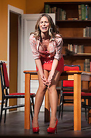 Actress Vanesa Romero performs `El Clan de las Divorciadas´ theater play in Madrid, Spain. August 19, 2015. (ALTERPHOTOS/Victor Blanco)