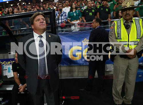 Selecci&oacute;n Meexicana  ,durante partido entre las selecciones de Mexico y Guatemala  de la Copa Oro CONCACAF 2015. Estadio de la Universidad de Arizona.<br /> Phoenix Arizona a 12 de Julio 2015.