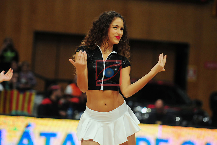League ACB-Endesa 2014/2015 - Game: 06.<br /> FIATC Joventut vs Unicaja: 82-74.<br /> SDS Cheers.