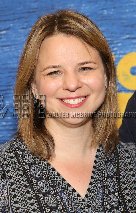 Irene Sandkoff attends the press day for Broadway's 'Come From Away' at Manhattan Movement and Arts Center on February 7, 2017 in New York City.