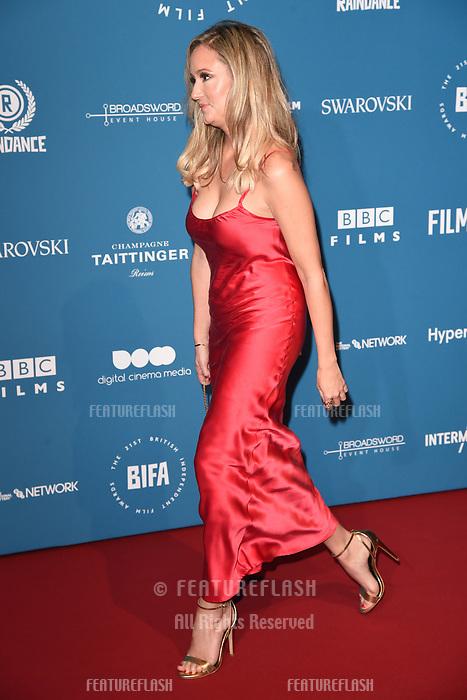 LONDON, UK. December 02, 2018: Claire Jones at the British Independent Film Awards 2018 at Old Billingsgate, London.<br /> Picture: Steve Vas/Featureflash