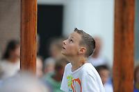 MASTKLIMMEN: AKKRUM: 06-07-2013, © Martin de Jong