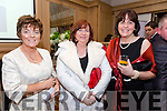 Enjoying the Lee Strand Social at Ballygarry House Hotel on Saturday were Tina O'Brien,  Moira Lyons and Doreen Pierce