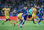 Leicester's Jamie Vardy in action during the Premier League match at the King Power Stadium, Leicester. Picture date: May 18th, 2017. Pic credit should read: David Klein/Sportimage