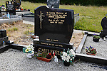 The grave of James Caulfield behind Saint Patrick's Church in Granlahan, County Roscommon, Ireland on Tuesday, June 25th 2013. (Photo by Brian Garfinkel)