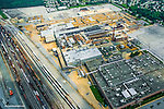 Aerial view of GM Plant in Newport Delaware