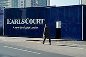 Earls Court development site, London.