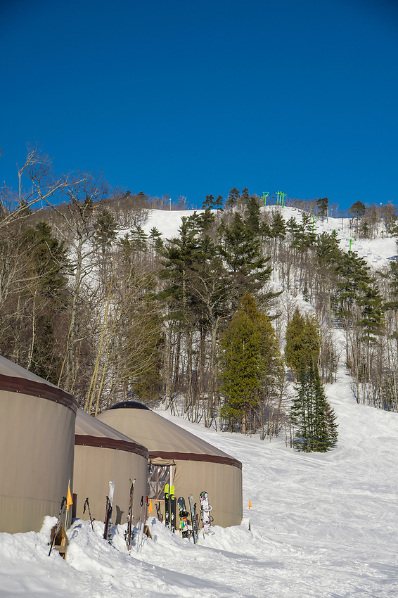 Mount Bohemia ski area in Michigan.