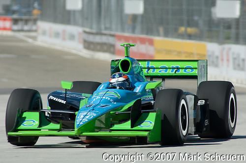 31 August 2007: Ryan Hunter-Reay (USA) at the Detroit Belle Isle Grand Prix, Detroit, Michigan.