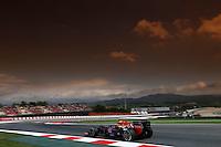 MONTMELO, ESPANHA, 10 DE MAIO DE 2013 - O piloto australiano Mark Webber durante treino para o GP da Espanha de Fórmula 1 no circuito da Catalunha, em Montmelo, perto de Barcelona, Espanha, nesta sexta-feira, 10. FOTO: PIXATHLON / BRAZIL PHOTO PRESS.