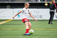 Seattle, Washington - Saturday May 14, 2016:  Portland Thorns FC midfielder Celeste Boureille (30) during warmups at Memorial Stadium on Saturday May 14, 2016 in Seattle, Washington. The match ended in a 1-1 draw