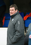 St Johnstone v Celtic.....14.02.15<br /> Tommy Wright<br /> Picture by Graeme Hart.<br /> Copyright Perthshire Picture Agency<br /> Tel: 01738 623350  Mobile: 07990 594431