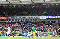 Preston North End fans watch the first half action<br /> <br /> Photographer Rich Linley/CameraSport<br /> <br /> The EFL Sky Bet Championship - Blackburn Rovers v Preston North End - Saturday 9th March 2019 - Ewood Park - Blackburn<br /> <br /> World Copyright © 2019 CameraSport. All rights reserved. 43 Linden Ave. Countesthorpe. Leicester. England. LE8 5PG - Tel: +44 (0) 116 277 4147 - admin@camerasport.com - www.camerasport.com