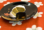 Traditional sweets made from the kougan fruit are created by the Janaha family in Naha, Okinawa, Japan on 27 June 2012. Today the Jahana family are the only people still making the traditional Kippan Tougan sweets that were served at the court of the Ryukyu kings 300 years ago. Photo: Robert Gilhooly..