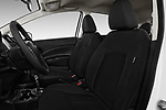 Front seat view of 2017 Nissan Versa-Note S-Plus 5 Door Hatchback Front Seat  car photos