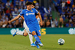 Leandro Cabrera of Getafe CF during La Liga match between Getafe CF and Deportivo Alaves at Colisseum Alfonso Perez in Getafe, Spain. August 31, 2019. (ALTERPHOTOS/A. Perez Meca)
