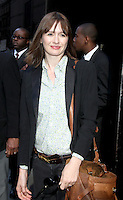 June 27, 2012 Emily Mortimer at Good Morning America in New York City to discuss her HBO TV series The Newsroom. © RW/MediaPunch Inc. /**NORTEPHOTO:COM**<br />