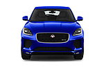 Car photography straight front view of a 2018 Jaguar E-PACE R-Dynamic S 4WD 5 Door SUV