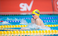 Picture by Allan McKenzie/SWpix.com - 05/08/2017 - Swimming - Swim England National Summer Meet 2017 - Ponds Forge International Sports Centre, Sheffield, England - Ethan Grace-Riches races in the mens 13/14yrs 50m breaststroke.