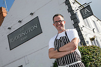 Mark Anderson, licencee of The Ruddington Arms, Ruddington, Nottingham