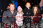 The Corridan family from Ballyheigue at the firework display in Denny St on New Years Eve<br /> L-r, Mark, Cora, Aoibhinn and Eileen Corridan.