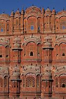 Asie/Inde/Rajasthan/Jaipur: Le palais des Vents (1799)