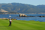 Jeff Sluman,  18th at Pebble Beach