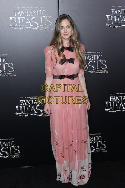 NEW YORK, NY - NOVEMBER 10: Hannah Bagshawe at the World Premiere of Fantastic Beasts and Where to Find Them at Alice Tully Hall on November 10, 2016 in New York City.   <br /> CAP/MPI/DIE<br /> &copy;DIE/MPI/Capital Pictures
