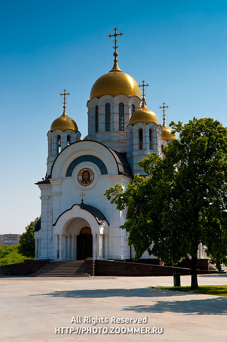 Orthodox Church Of St. George the Victorious in Samara