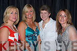 FASHION: Enjoying the Fashion Show at the Rose of Tralee Festival Dome, Fels Point were Trish OMalley, Elaine Clancy, Noreen Ellis and Veronica Condon, Tralee.