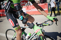 bionic man Serhiy Grechyn (UKR/Torku Şekerspor) at the start<br /> <br /> Tour of Turkey 2014<br /> stage 3