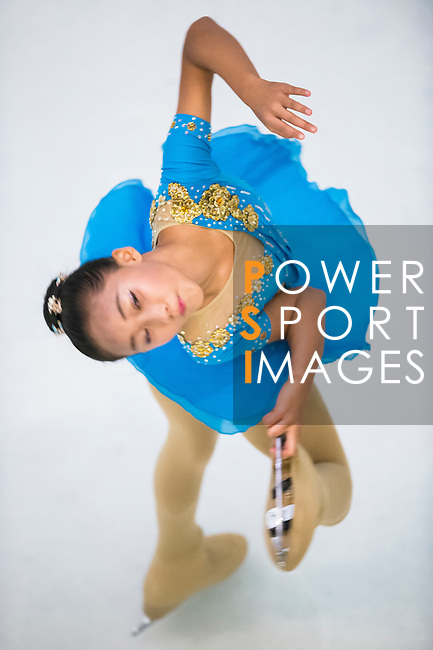 Huan Yu Tang competes during the Asian Junior Figure Skating Challenge 2015 on October 07, 2015 in Hong Kong, China. Photo by Aitor Alcalde/ Power Sport Images