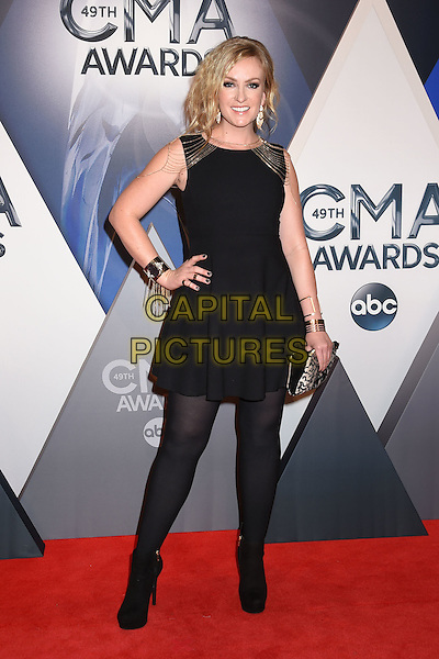 4 November 2015 - Nashville, Tennessee - Clare Dunn. 49th CMA Awards, Country Music's Biggest Night, held at Bridgestone Arena. <br /> CAP/ADM/LF<br /> &copy;LF/ADM/Capital Pictures