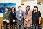 St John of Gods 30th anniversary at Ballyroe Heights hotel Hotel on Thursday l-r: Christina Doody, Dolores Parker, Cathaoirleach of KCC, Cllr John Sheahan, Mary King and Sheila Marie Fitzgerald.
