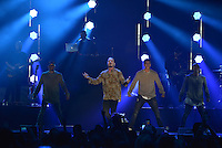 MIAMI, FL - NOVEMBER 05: J Balvin performs on stage at iHeartRadio Fiesta Latina at American Airlines Arena on November 5, 2016 in Miami, Florida. Credit: MPI10 / MediaPunch