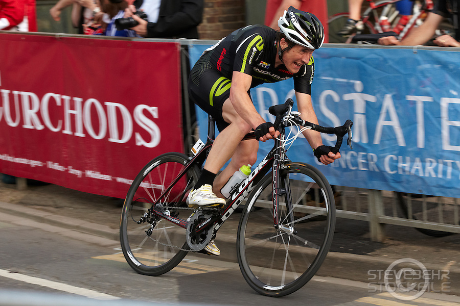 Ian Wilkinson , Halfords Tour Cycle Race , Woking , Surrey , June 2011 pic copyright Steve Behr / Stockfile