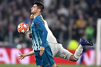 Alvaro Morata of Atletico Madrid in action during the Uefa Champions League 2018/2019 round of 16 second leg football match between Juventus and Atletico Madrid at Juventus stadium, Turin, March, 12, 2019 <br />  Foto Andrea Staccioli / Insidefoto