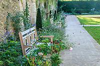 France, Indre-et-Loire (37), Chenonceaux, château et jardins de Chenonceau, jardin Hommage à Russell Page